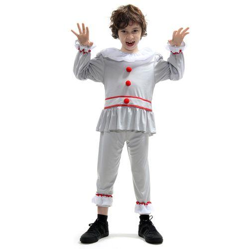 Fantasia Palhaço do Mal Infantil - Halloween