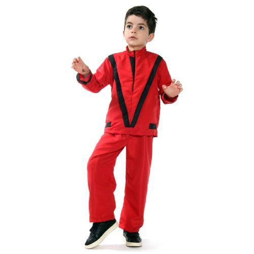 Fantasia Michael Jackson Zumbi Thriller - Halloween