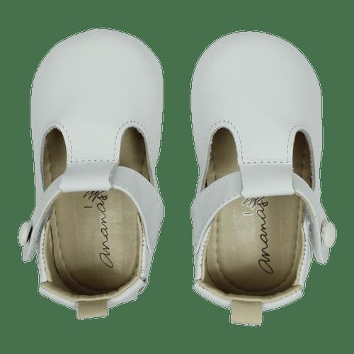 Sapato Ananás Bebe George Branco