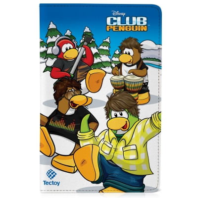 Capa protetora para Magic Tablet - Club Penguin - TecToy
