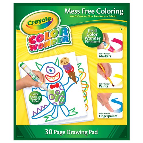 Color Wonder Refil de Folhas - Crayola