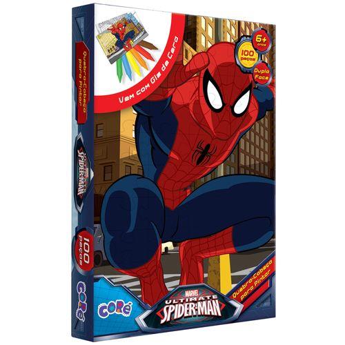 Quebra-Cabeça para Pintar - Ultimate Spider-Man - 100 Peças - Toyster