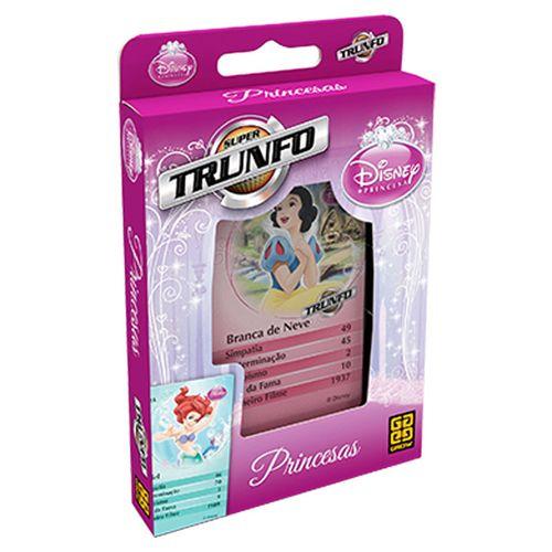 Jogo Super Trunfo - Princesas Disney - Grow