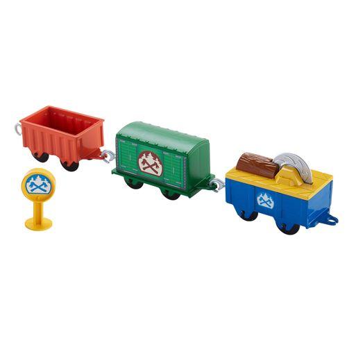 Vagões Carregamento de Lenha - Thomas e Seus Amigos - Fisher-Price