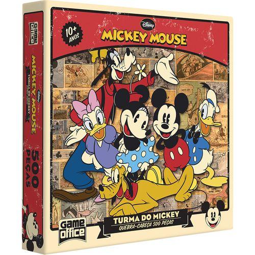 Quebra-Cabeça - Turma do Mickey Mouse - 500 Peças - Toyster - Disney
