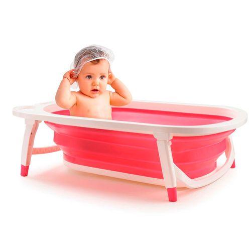 Banheira Dobrável Flex Bath Girls - Multikids Baby