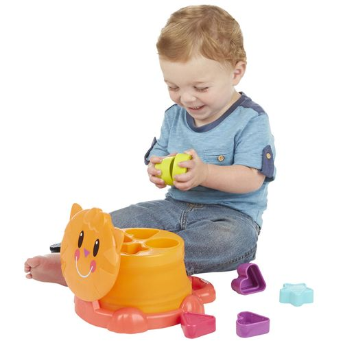 Brinquedo Educativo - Gatinho com Formas de Encaixe - Playskool - Hasbro