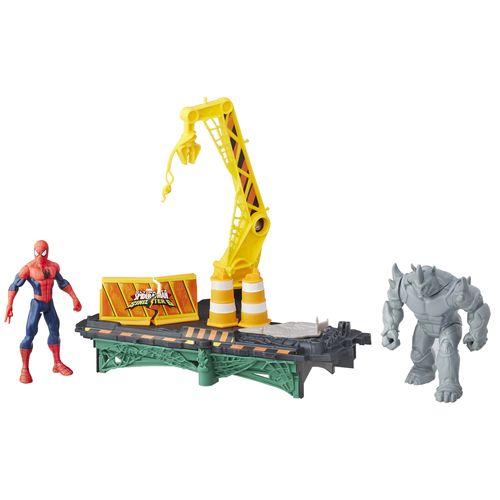 Plaset Web City - Rhino - Homem Aranha - Marvel - Hasbro