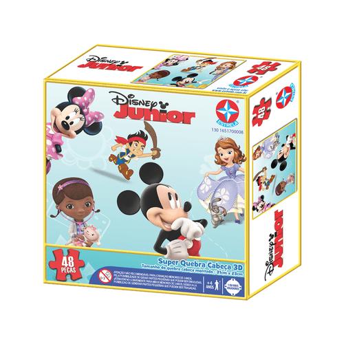 Quebra-Cabeça 3D - Disney Junior - Estrela