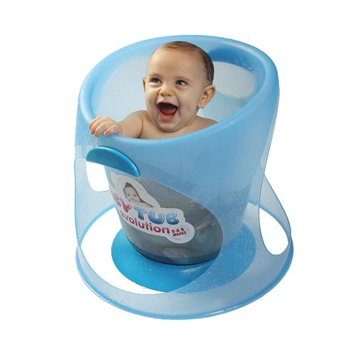 Banheira Babytub Evolution - De 0 a 8 Meses - Azul - Baby Tub