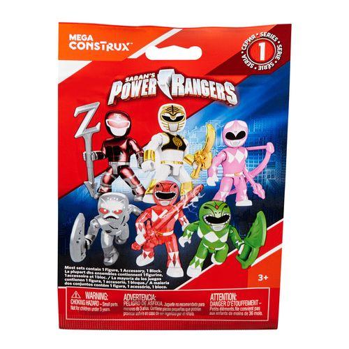 Mini Figura Surpresa - Mega Construx - Power Rangers - Série 1 - Mattel