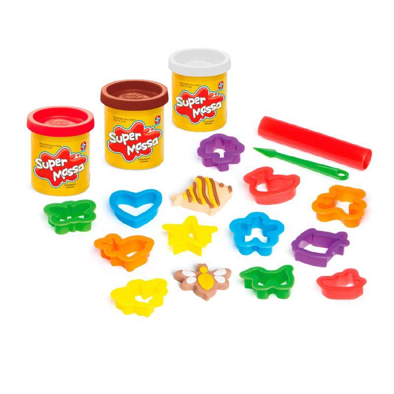 Conjunto-de-Massas-de-Modelar---Super-Massa---Cookies-Divertidos---Estrela