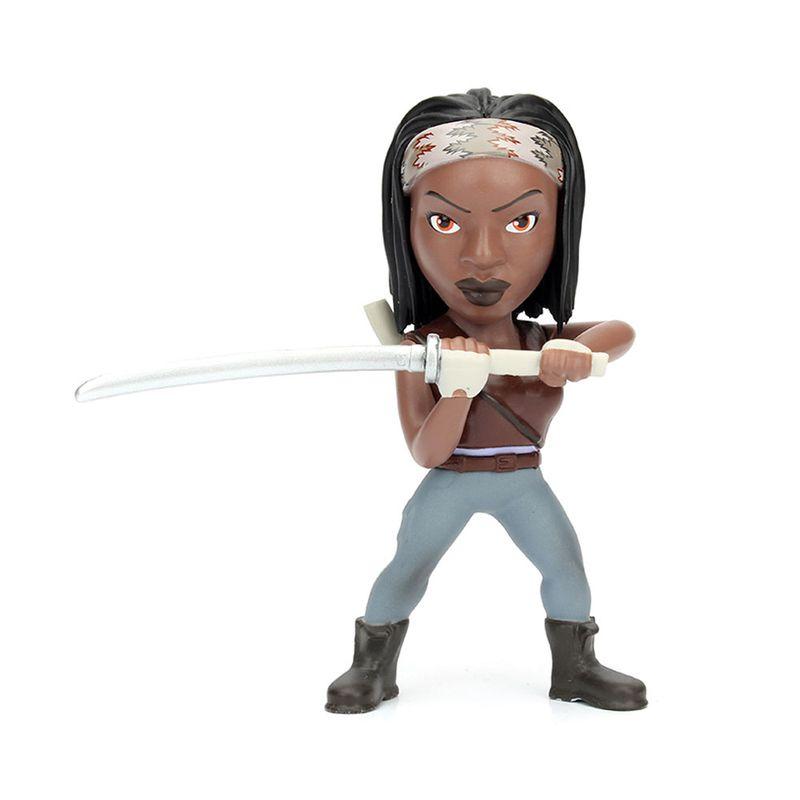 Figura-Colecionavel-10-Cm---Metals---The-Walking-Dead---Michonne---DTC