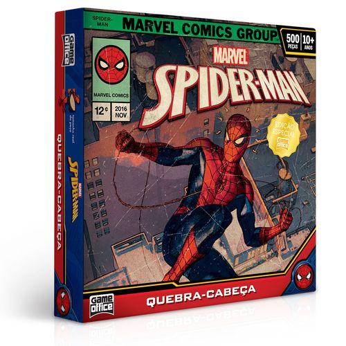 Quebra-Cabeça - 500 Peças - Disney - Marvel - Spider-Man - Toyster