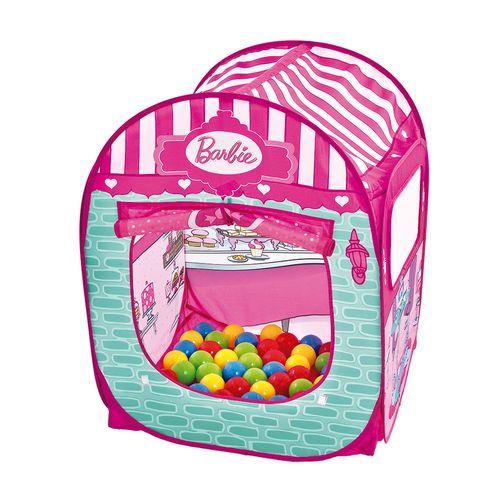Barraca Infantil com 50 Bolinhas - Barbie - Doceria Fabulosa - Fun