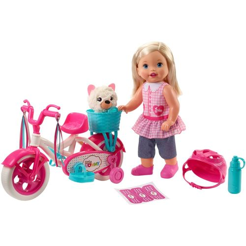 Boneca e Acessórios - Little Mommy - Meu Primeiro Passeio - Mattel