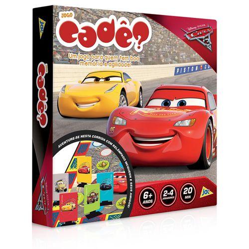 Jogo - Cadê? - Carros 3 - Disney - Toyster