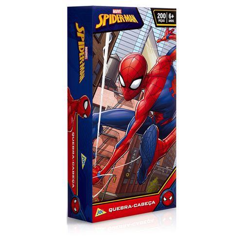 Quebra-Cabeça - 200 Peças - Spider-Man - Marvel - Toyster