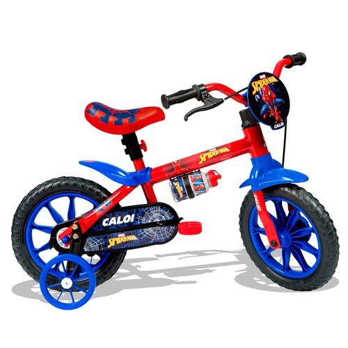Bicicleta ARO 12 - Disney - Marvel - Spider-Man - Caloi