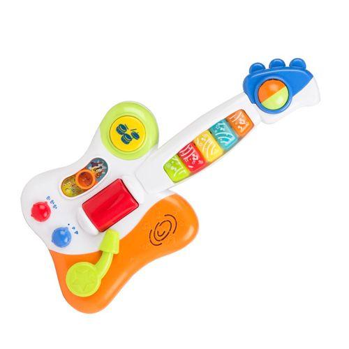 Guitarra do Bebê - Guitarrinha com Luzes e Sons - Winfun