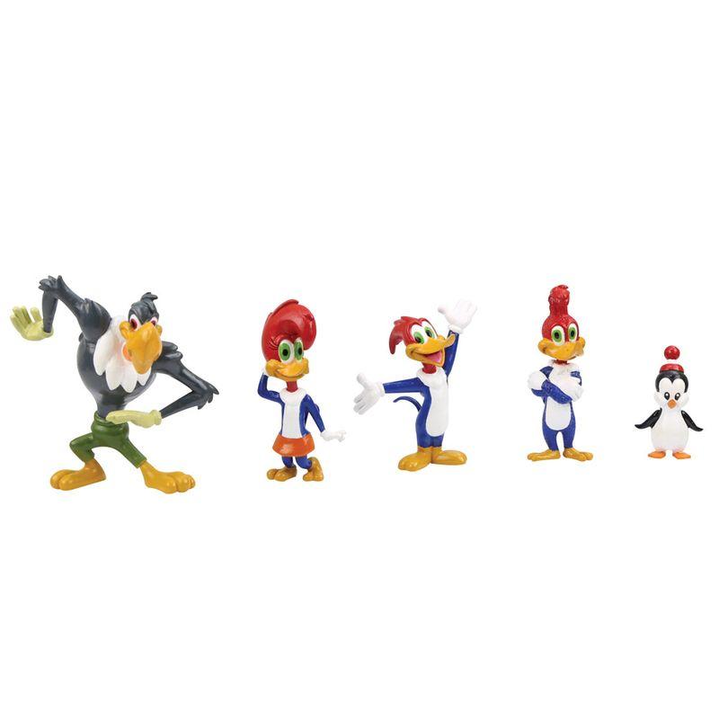 Conjunto-5-Figuras-Colecionaveis-10-Cm---Pica-Pau---O-Show-da-Turma---Brincando-com-a-Turma---DTC