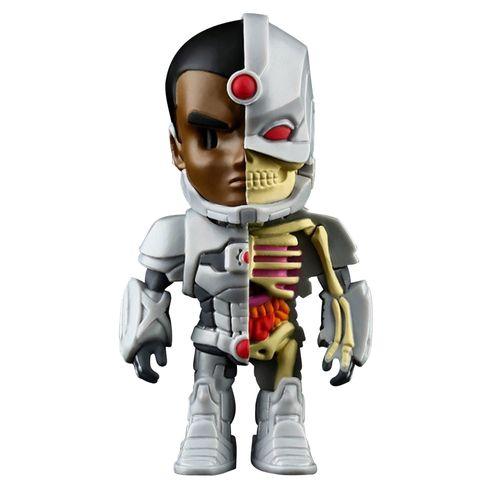 Figura Colecionável - 10 Cm - XXRay - Liga da Justiça - Cyborg - Edimagic