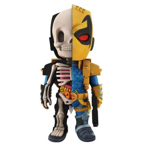 Figura Colecionável - 10 Cm - XXRay - Liga da Justiça - Deathstroke - Edimagic