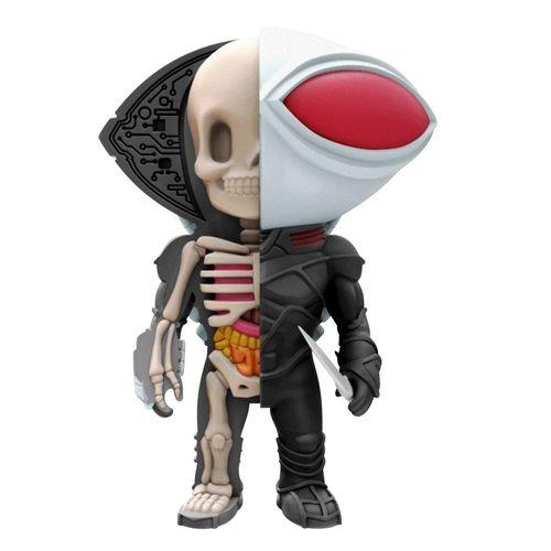 Figura Colecionável - 10 Cm - XXRay - Liga da Justiça - Manta Negra - Edimagic