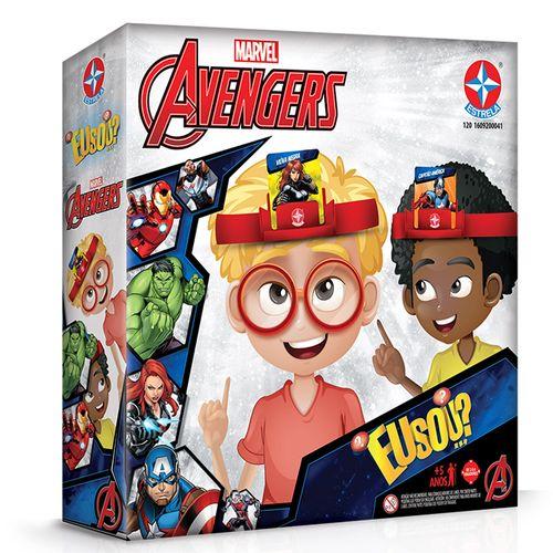 Jogo Eu Sou - Vingadores - Marvel - Disney - Estrela