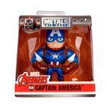 Figura-Colecionavel-6-Cm---Metals-Die-Cast---Disney---Marvel-Avengers---Capitao-America---DTC