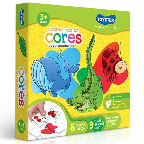 Jogo Educativo - Explorando as Cores - Toyster