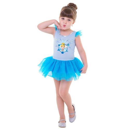 Fantasia de Carnaval - Infantil - Disney - Princesas - Cinderela - Regina Festas