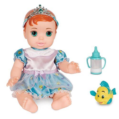 Boneca Bebê - Princesas Disney - Ariel com Pet - Mimo