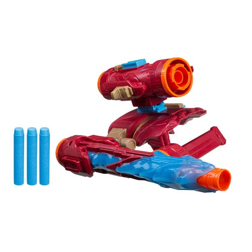 Lança Dardos - Disney - Marvel - Vingadores - Guerra Infinita - Iron Man - Hasbro
