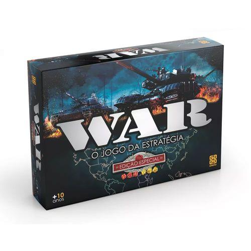 Jogo War - Edição Especial - Nova Embalagem - Grow