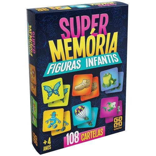Jogo Super Memória - Figuras Infantis - 2018 - Grow