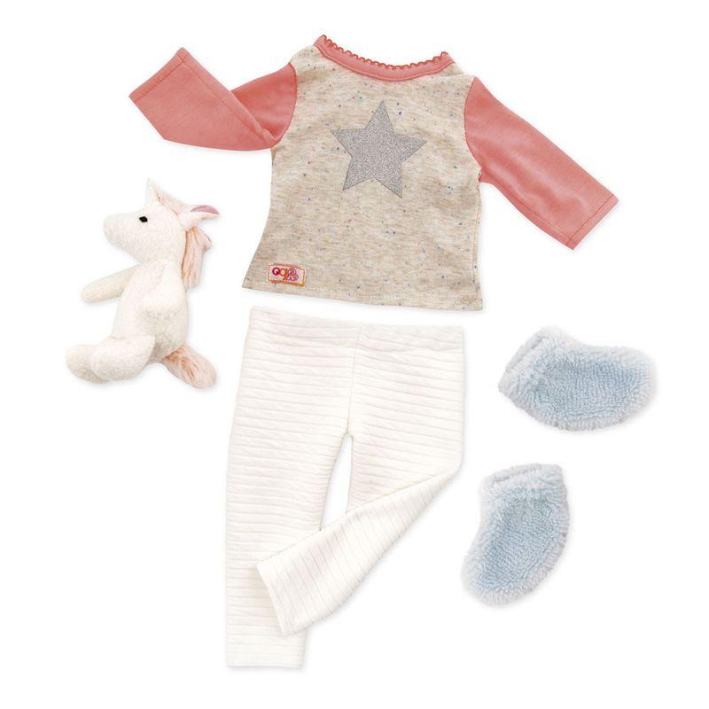 Acessorios-para-Boneca---Our-Generation---Pijama-Unicornio