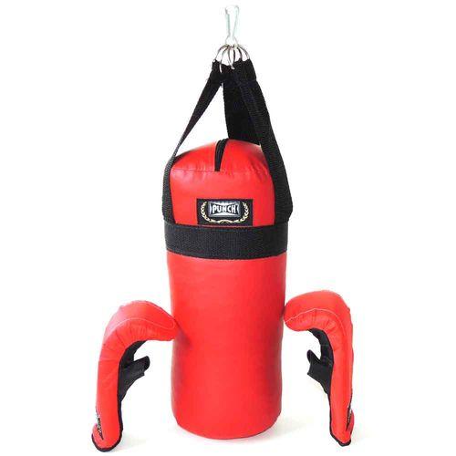 Conjunto de Boxe - Junior - Saco de Pancada e Luvas Infantil - Punch