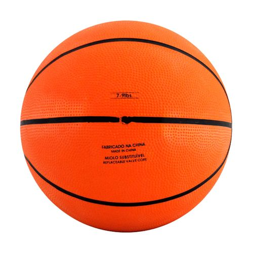Mini Bola de Basquete - 12 cm - Laranja e Preto - Pratique Net