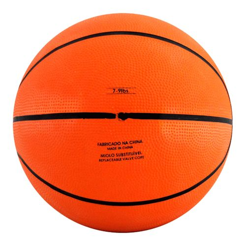 Mini Bola de Basquete - 14 cm - Laranja e Preto - Pratique Net