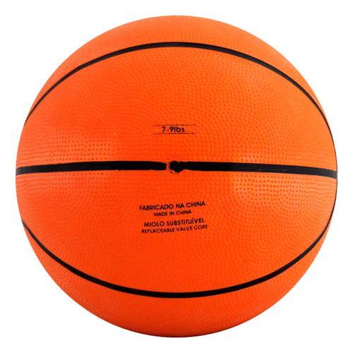 Mini Bola de Basquete - 17 cm - Laranja e Preto - Pratique Net