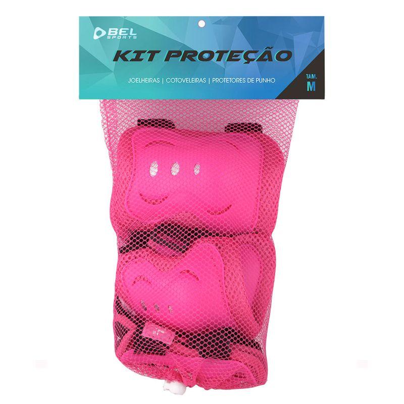 Conjunto-de-Protecao---Skateboard-e-Rollers---3-Pecas---Rosa---M_Embalagem