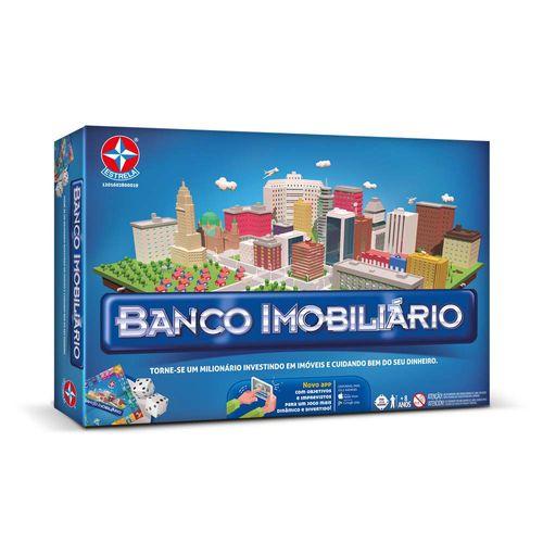 Jogo Banco Imobiliário - 2018 - Estrela