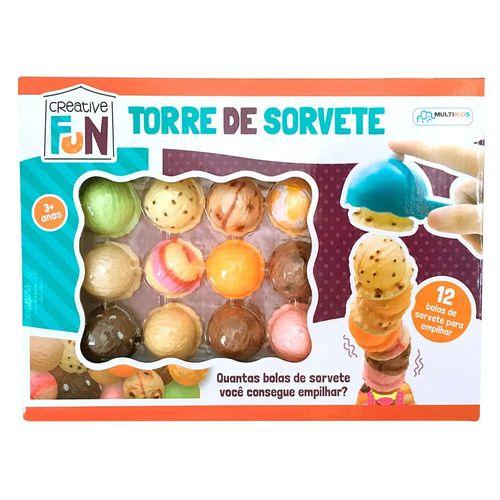 Jogo - Torre de Sorvete - Creative Fun - Multikids