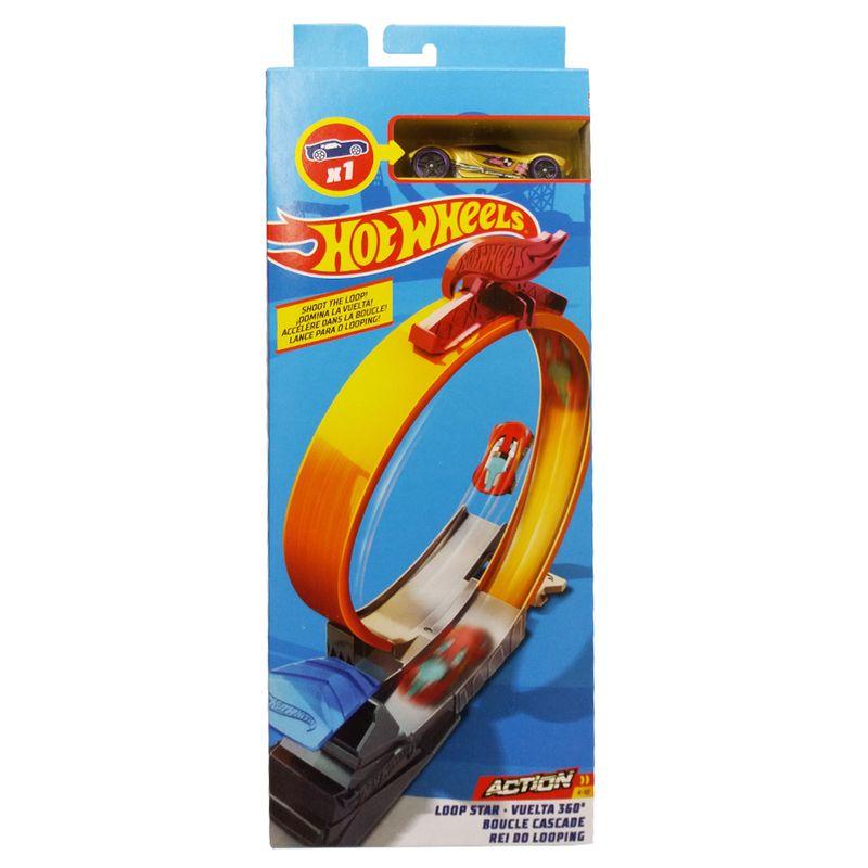 Pista-e-Veiculo---Hot-Wheels---Track-Builder---Rei-do-Looping---Mattel