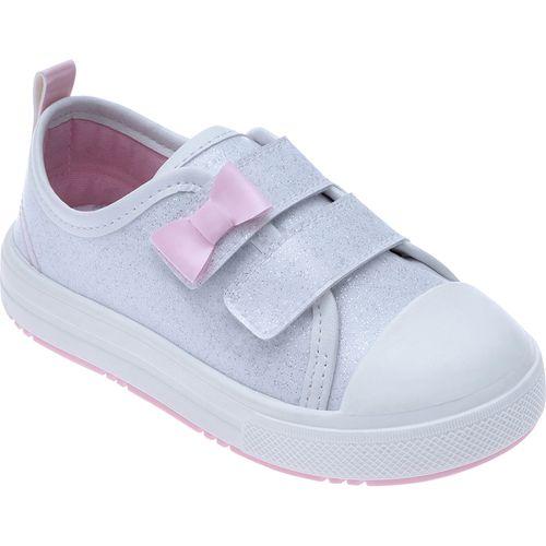 Tênis para Bebês - Feminino - Star Kids - Com Laço Branco - Pimpolho