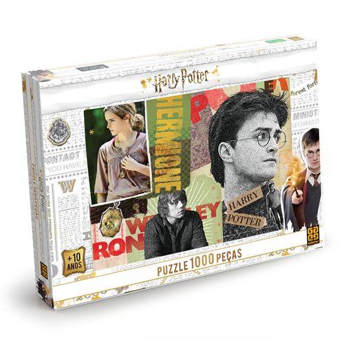Quebra-Cabeça - Harry Potter - 1000 Peças - Grow