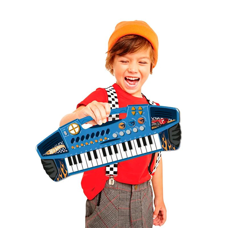 Teclado-Eletronico---Hot-Wheels---Barao-Toys