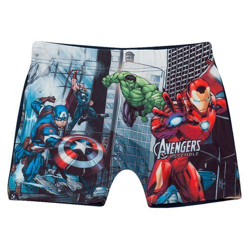 Sunga Infantil - Disney - Marvel - Vingadores - Marinho - Tip Top