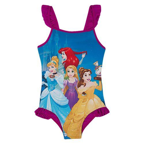Maiô Infantil - Disney - Princesas - Roxo - Tip Top